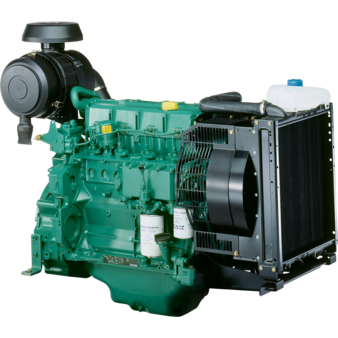 Двигатель Volvo Penta TAD1354GE 60 Hz, TAD1354GE 50 Hz, TAD1355GE 60 Hz, TAD1355GE 50 Hz, TAD1640GE 60 Hz