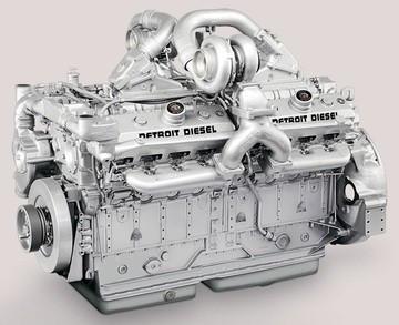 Двигатель Detroit Diesel 12V149, 12V71NA, 12V71TI, 12V4000, Detroit Diesel/MTU-2000TA