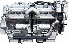 Двигатель Detroit Diesel 4087-7300, 5043-7000, 6047GK28, 6043TK35