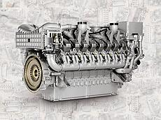 Двигатель MTU 20V4000 C23, MTU 20V4000 C22