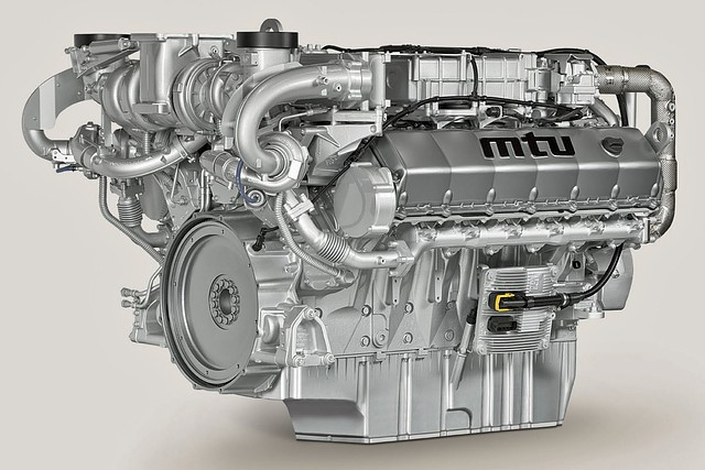 Двигатель MTU 16V2000G25-TB, MTU 16V4000G63, MTU 16V4000G23, MTU 12V4000G63, MTU 12V4000G23