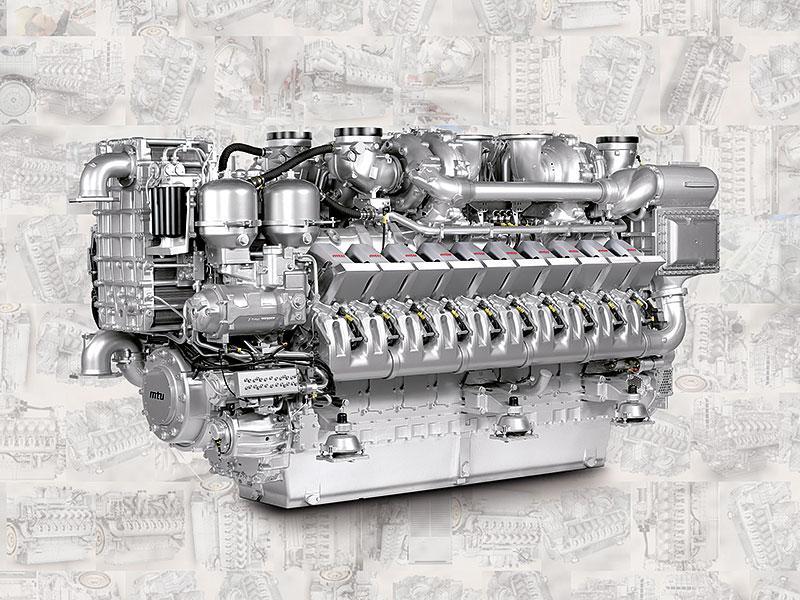 Двигатель MTU 20V 4000 P83, MTU 12V4000G23, MTU 4R 1000 A20, MTU 4R 1000 A30, MTU 6R 1000 A20