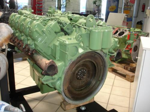 Двигатель Mercedes OM 401 A, Mercedes OM 402, Mercedes OM 403, Mercedes OM 404 A