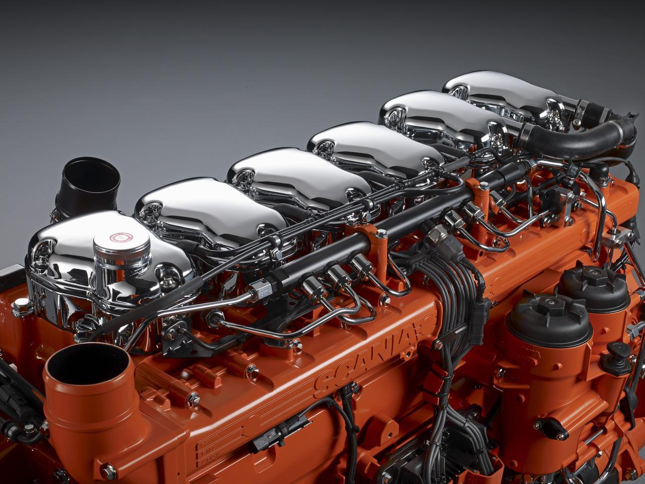 Дизельный двигатель Scania, двигатель Scania