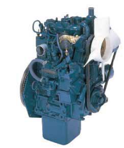Двигатель Kubota Super MINI