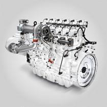 Газовый двигатель Liebherr