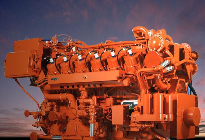 Газопоршневой двигатель Waukesha, газовый двигатель Waukesha