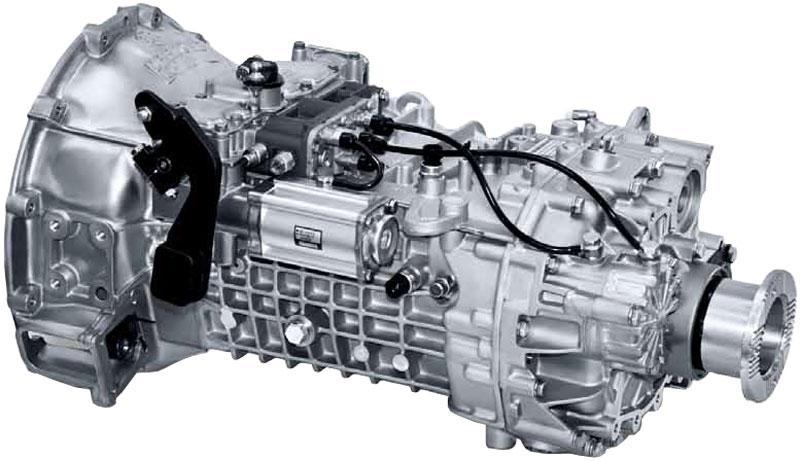 Коробка переключения передач (КПП) ZF 6S1000, КПП ZF 8S1350, КПП ZF 9S1310