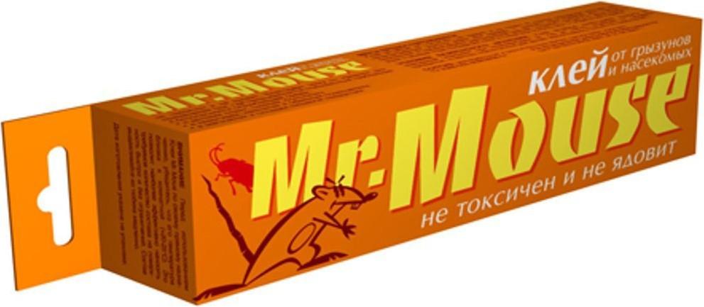 Клей от грызунов и насекомых Mr. Mouse