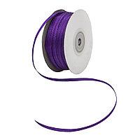 Лента атласная 3мм фиолетовый