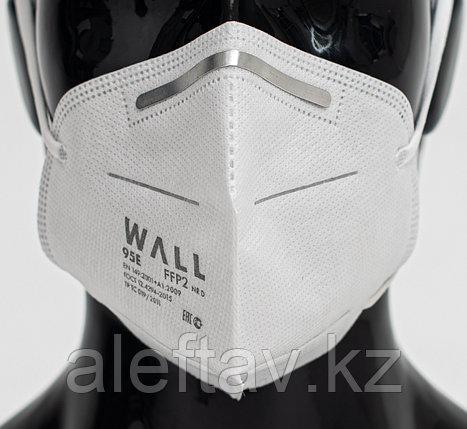 Wall95 E  Полумаска  фильтрующая  (респиратор  противоаэрозоль ный ) без клапана, фото 2
