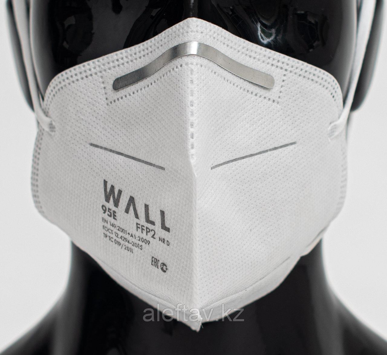 Wall95 E  Полумаска  фильтрующая  (респиратор  противоаэрозоль ный ) без клапана