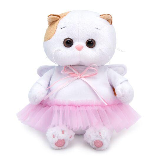 """Мягкая игрушка Кошечка Ли-Ли Baby в платье """"Ангел"""", 20 см"""