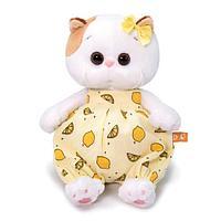 Мягкая игрушка Кошечка Ли-Ли Baby в песочнике с лимонами, 20 см