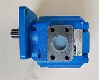 Насос гидравлический ZL50G/GN, LW500F новый образец, Синий (14 шлицов, сдвоенный) 803045370/P7260-80/10, 11514