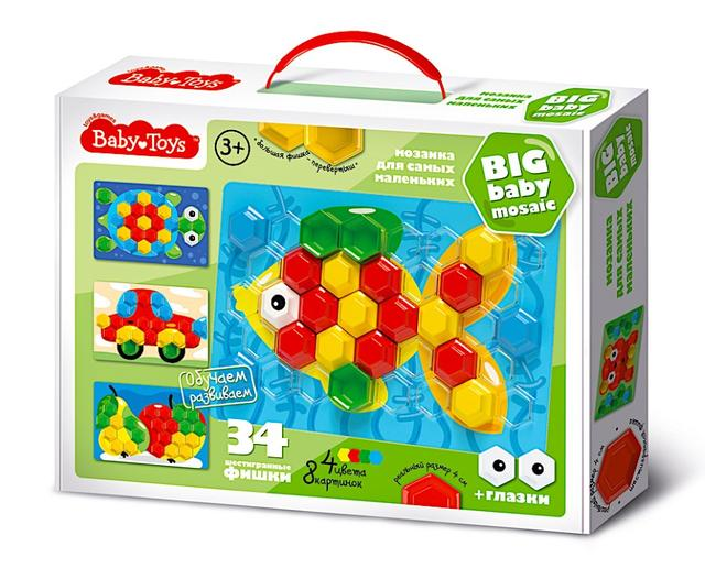 Мозаика с крупными фишками для малышей