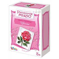 Набор для изготовления мыла с картинками своими руками «Алая роза»