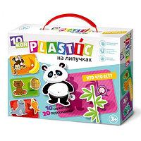 Пластик на липучках «Кто что ест?», фото 1