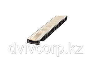 Лоток Ecoteck STANDART light 100.65 h69 с решеткой пластиковой, кл.А15