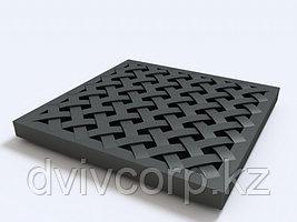 Решётка пластиковая усиленная к дождеприемнику (чёрный)
