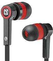 Наушники-вкладыши проводные Defender Pulse 420 черный + красный