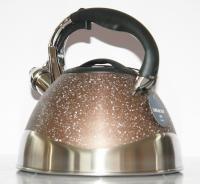 Чайник со свистком 3литра с каменным покрытием