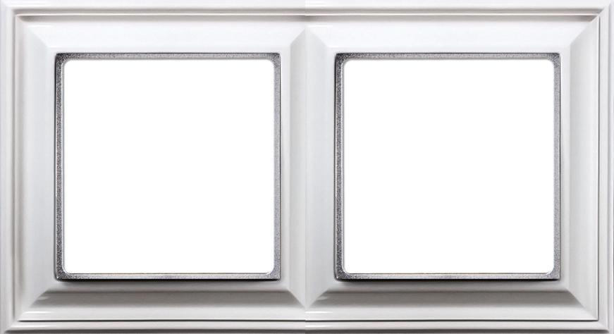 2-кратная рамка, белая epd482ww