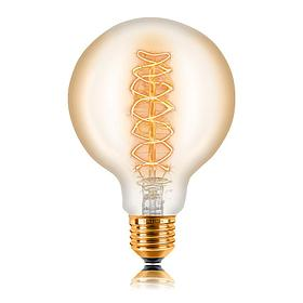 052-009а Лампа G95 24F5 40W E27 Цвет Золотой