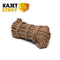 Верёвка джутовая d16 мм (50 м) Сибшнур