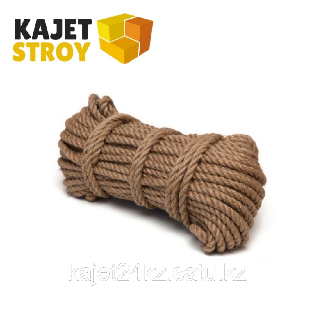 Верёвка джутовая d8 мм (50 м) Сибшнур