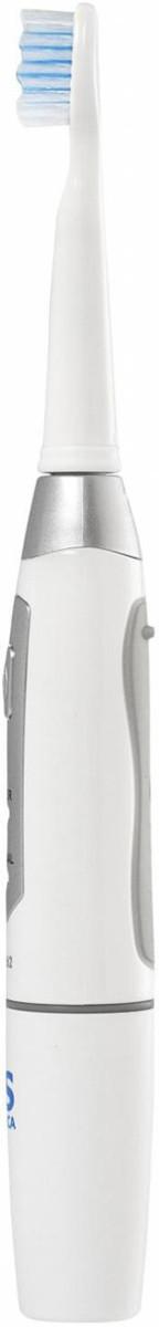 CS Medica: Электрическая звуковая зубная щетка CS Medica CS-262, белый-серебристый - фото 3