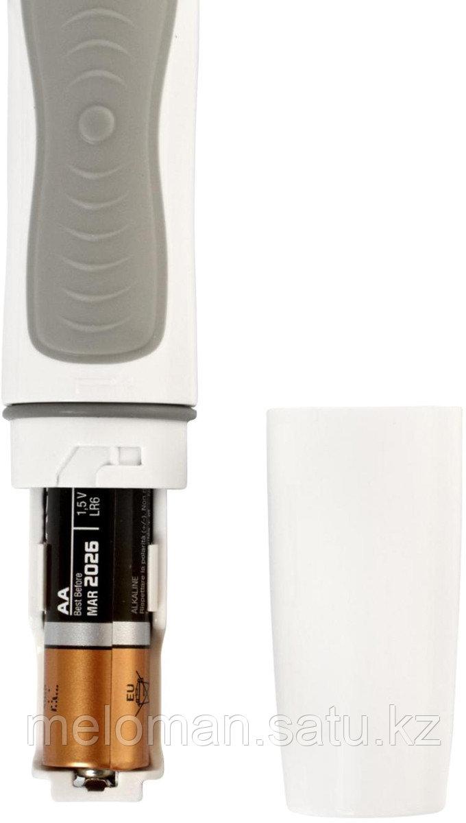 CS Medica: Электрическая звуковая зубная щетка CS Medica CS-262, белый-серебристый - фото 5