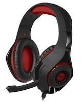 Игровые стереонаушники с микрофоном Sven AP-G886MV (черный-красный)