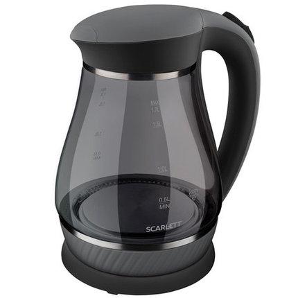 Чайник электрический стеклянный «Scarlett Crystal Pro» 1,7 л, фото 2