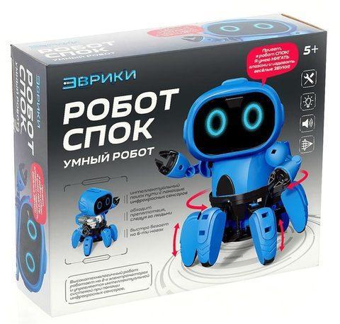 Конструктор электронного робота «Спока» с инфракрасными сенсорами