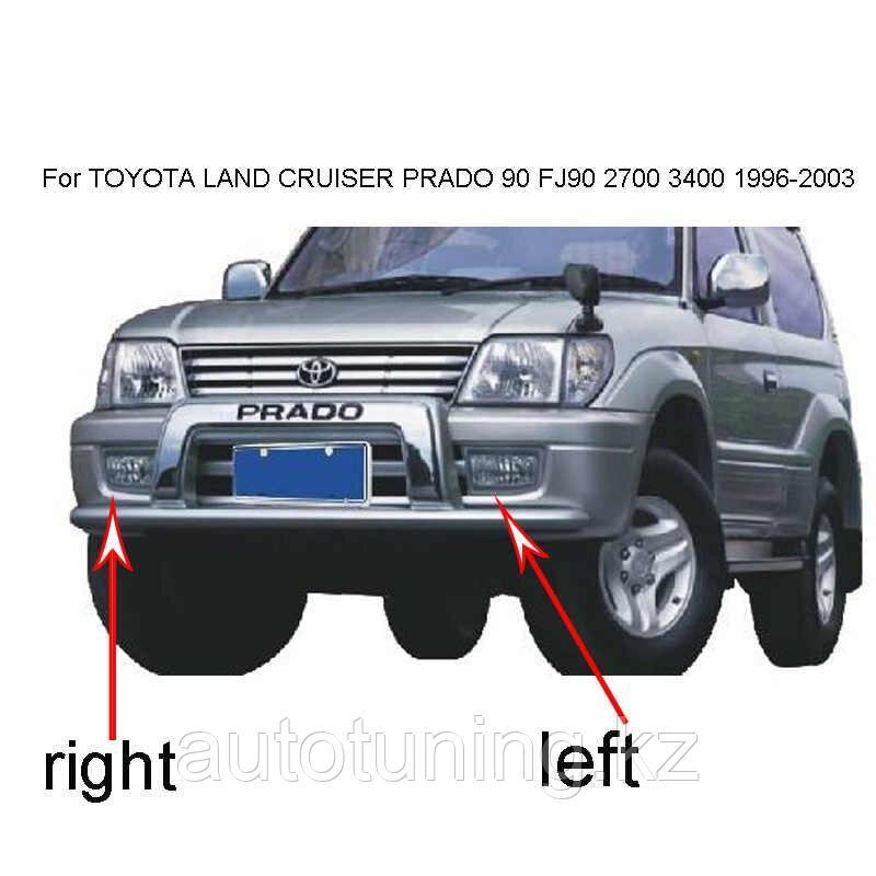 Противотуманные фары на Land Cruiser Prado 90-95 1996-2002