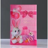 Папка для свидетельства о рождении 'Подарки' для девочки, А4