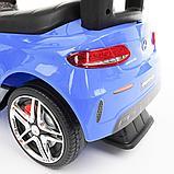 Каталка PITUSO MERCEDES-BENZ (ручка, бампер, подставка для ног) Blue/Синий, фото 7