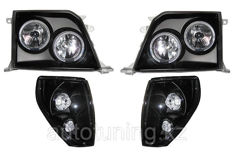 Альтернативная оптика на Land Cruiser Prado 90-95 1996-2002 Black Design