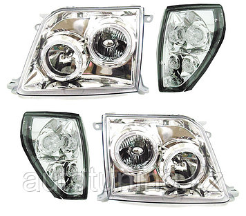 Альтернативная оптика на Land Cruiser Prado 90-95 1996-2002 Chrome Design