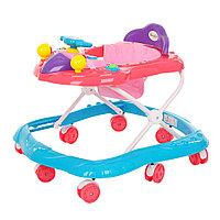 Детские ходунки Bambola Самолет Голубой/розовый, фото 1