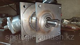 Переходник насоса НШ-100 привода экскаватора для установки АПН 310.112