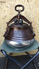 Афганский казан N1 комбинированный 30 л, оригинал, фото 3