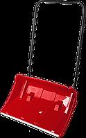 ЗУБР ПОЛЮС движок снеговой (скрепер), пластиковый ковш с алюминиевой планкой, с колесиками, 860 мм, фото 1