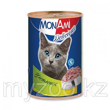 MonAmi - Консервы для кошек (цыпленок) 350 гр