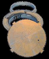 Люк чугунный тип Т плавающий из трёх частей