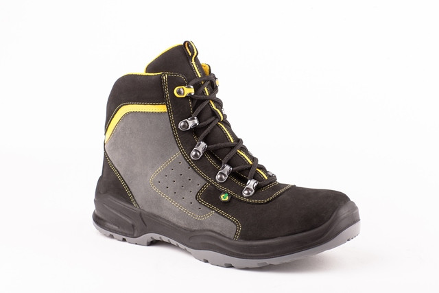 Ботинки кожаные Модель БМН-248Т