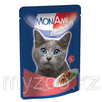 MonAmi Delicious Телятина в соусе 85 гр