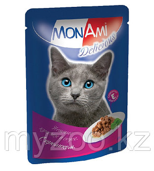 MonAmi Delicious Кролик в соусе 85 гр