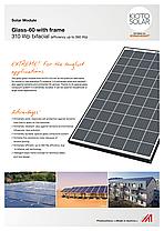 Солнечная панель KPV GME NEC 310 Wp bifacial (стекло-стекло)